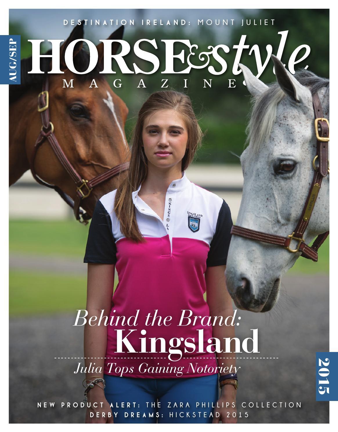 972e2f5168d23 Horse   Style Magazine Aug Sept 2015 by Horse   Style Magazine - issuu