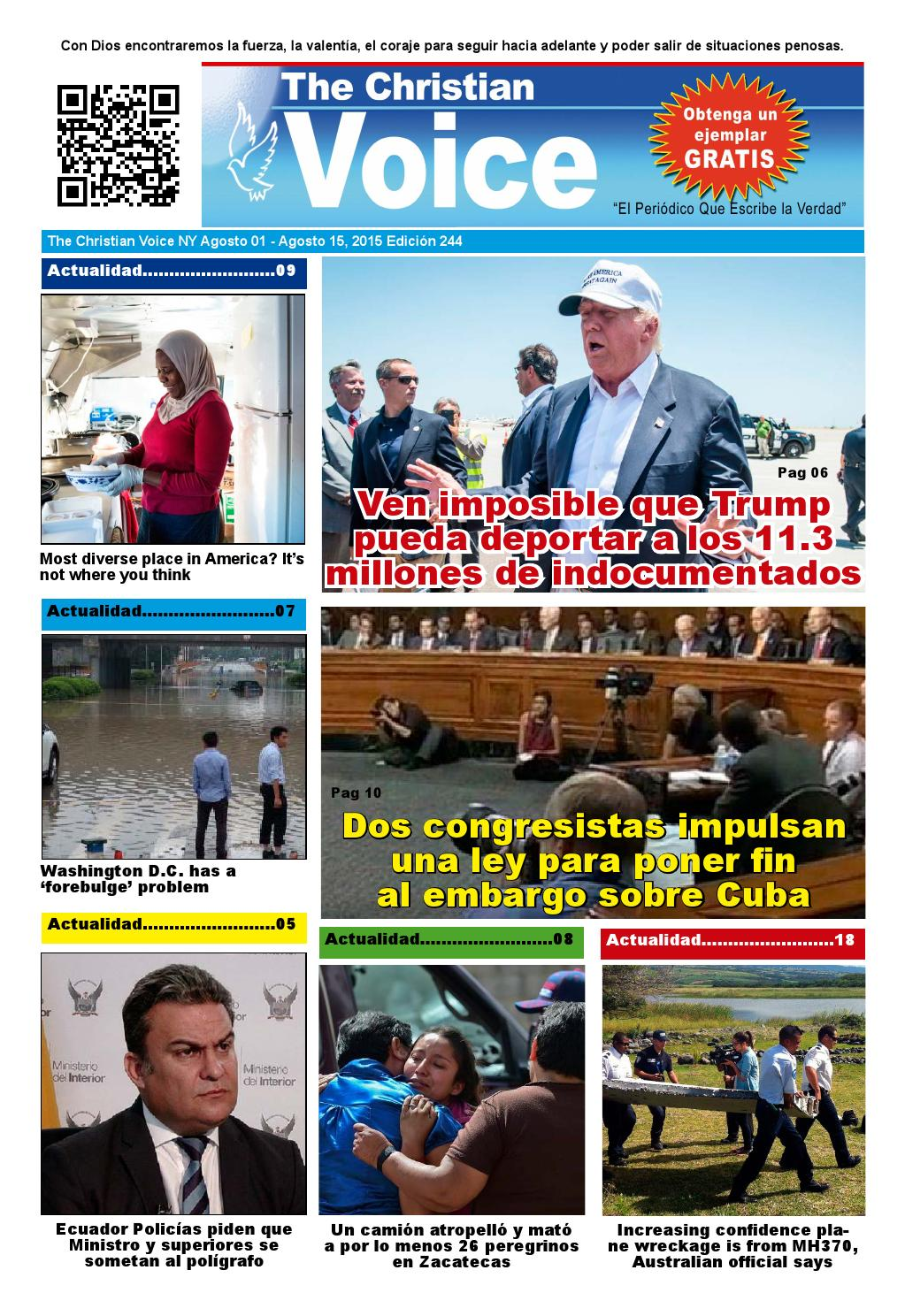 The Christian Voice Edicion 244 by Jairo Ramirez - issuu