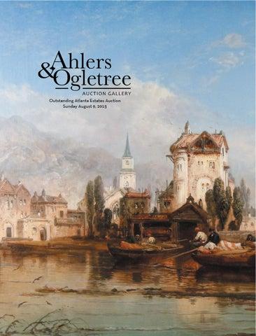 ahlers u0026 ogletree auction gallery august outstanding atlanta estates auction catalog