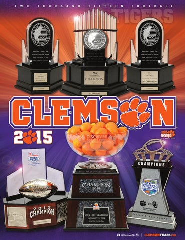 2015 Clemson Football Media Guide By Clemson Tigers Issuu