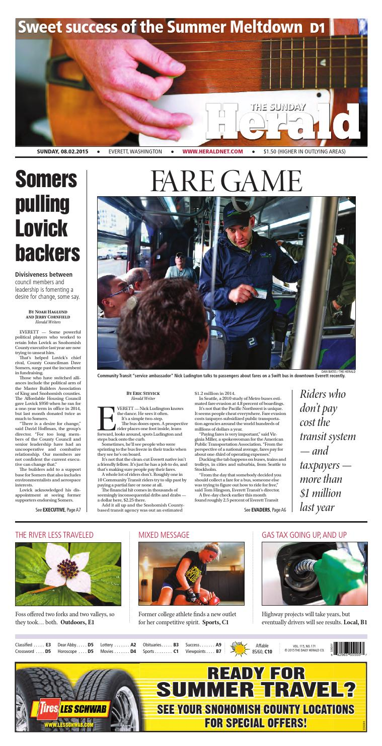Everett daily herald august 02 2015 by sound publishing issuu geenschuldenfo Image collections