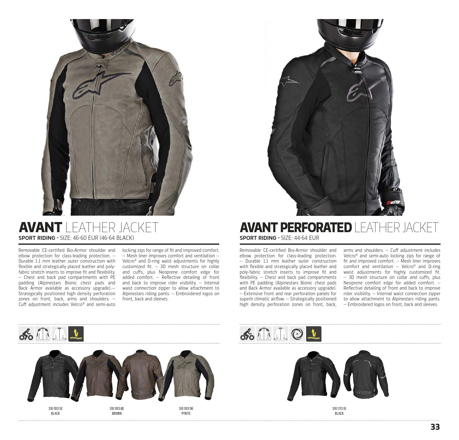 6eb442a404 Alpinestars Technical Road Apparel Catalogue 2015, USA by allbikes ...