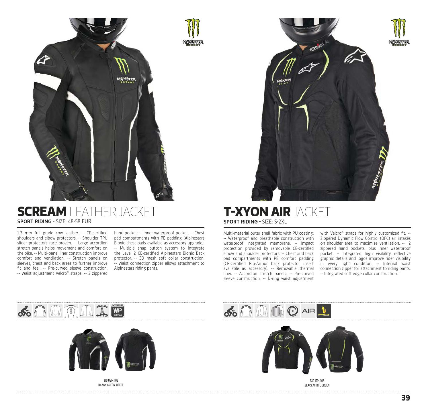 Alpinestars Technical Road Apparel Catalogue 2015, USA by