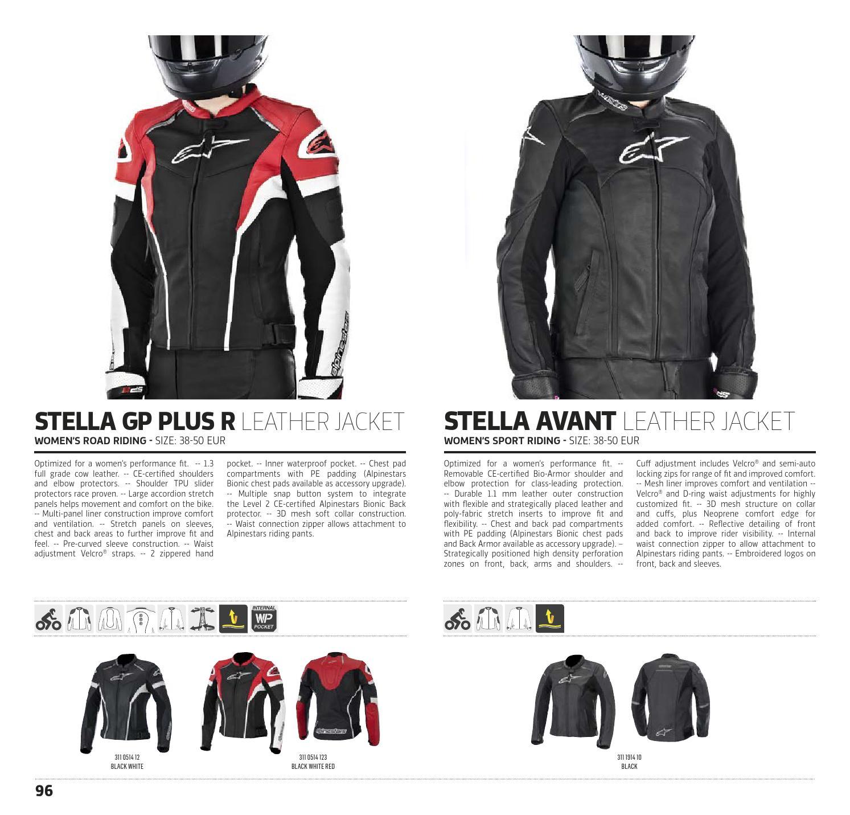 Alpinestars Technical Road Apparel Catalogue 2015, USA by allbikes