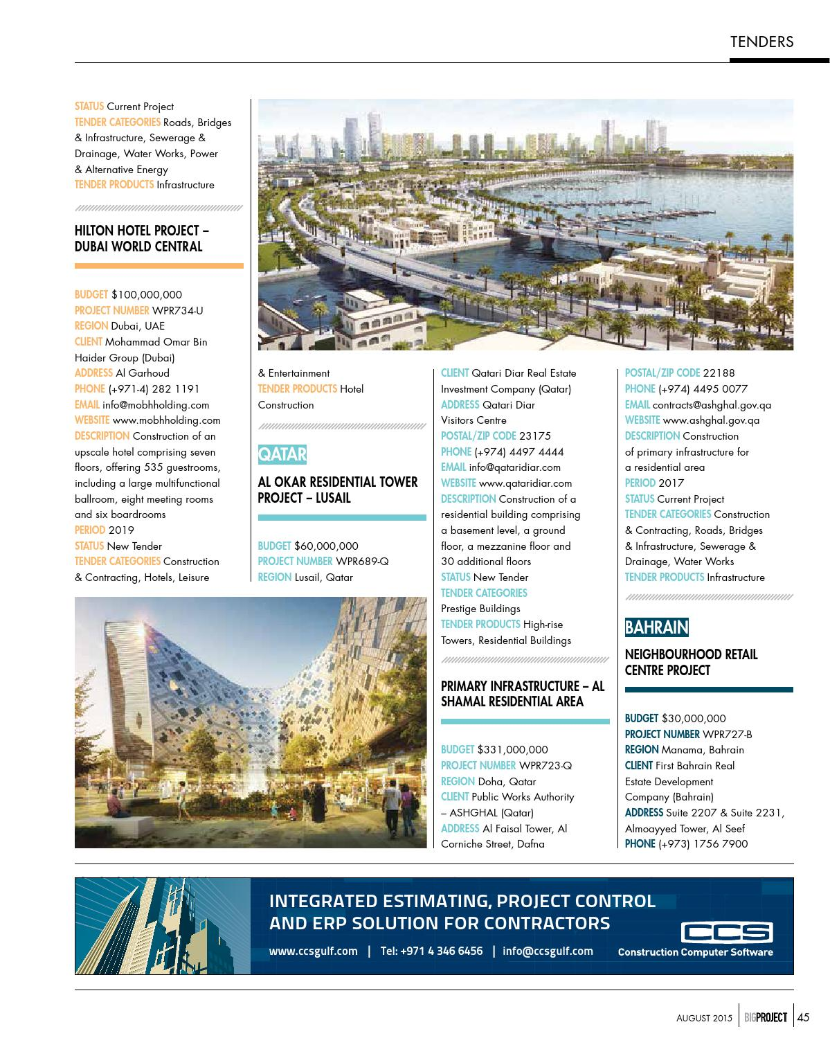 Bigproject aug 2015 by Big Project Middle East - issuu