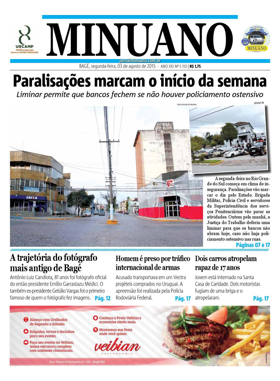 71ebf74fae3 20150803 by Jornal Minuano - issuu