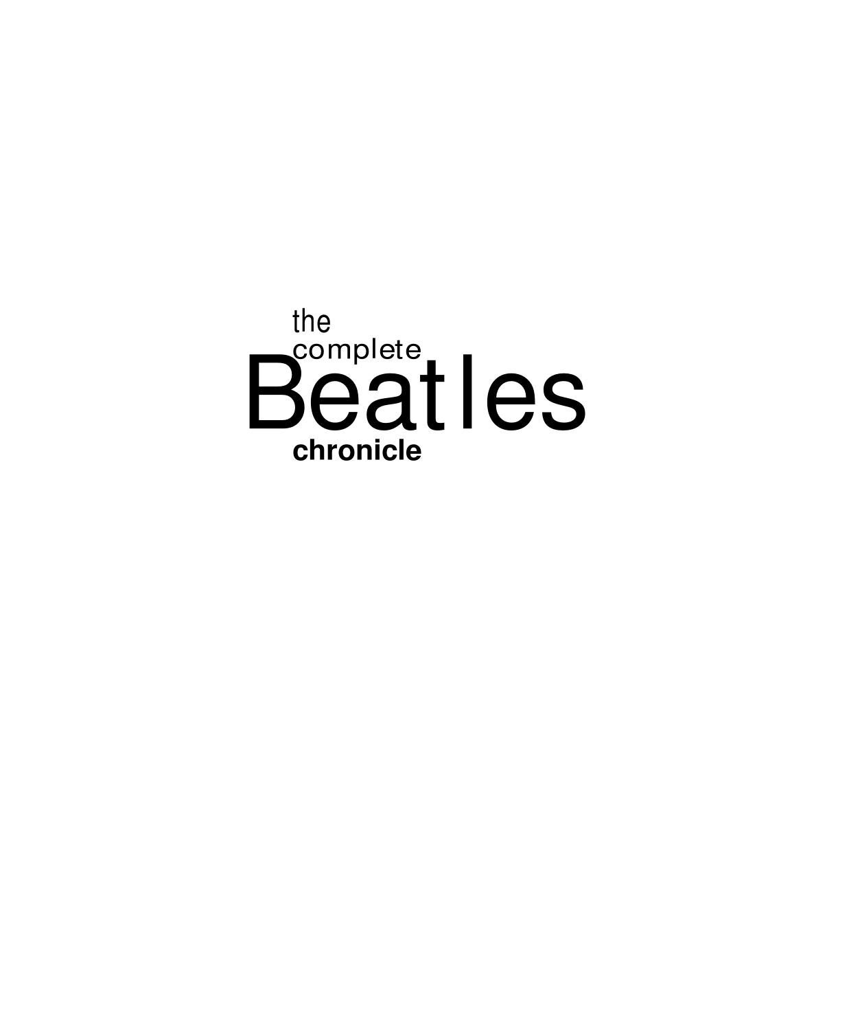 50c2f98fe The Complete Beatles Chronicle by Lucho Cohaila Guzman - issuu