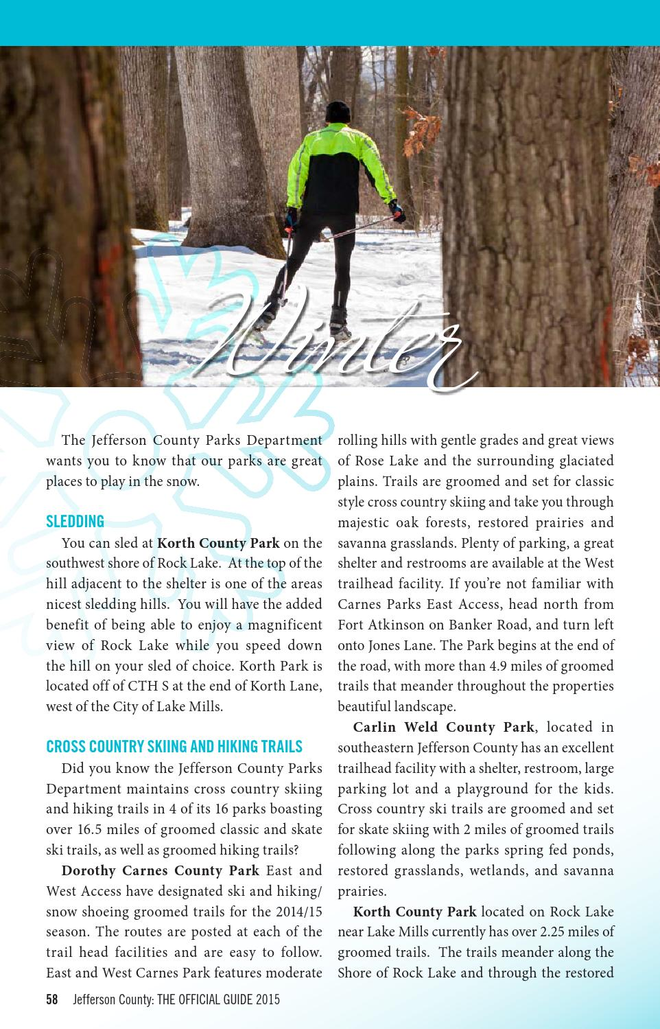 2015 Jefferson County Wisconsin Official Guide by Jennifer