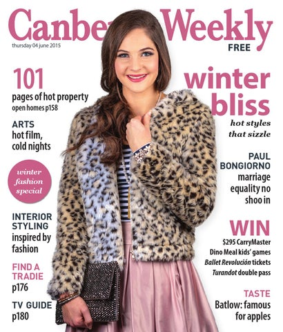 c9fc4fb4d8 4 June 2015 by Canberra Weekly Magazine - issuu