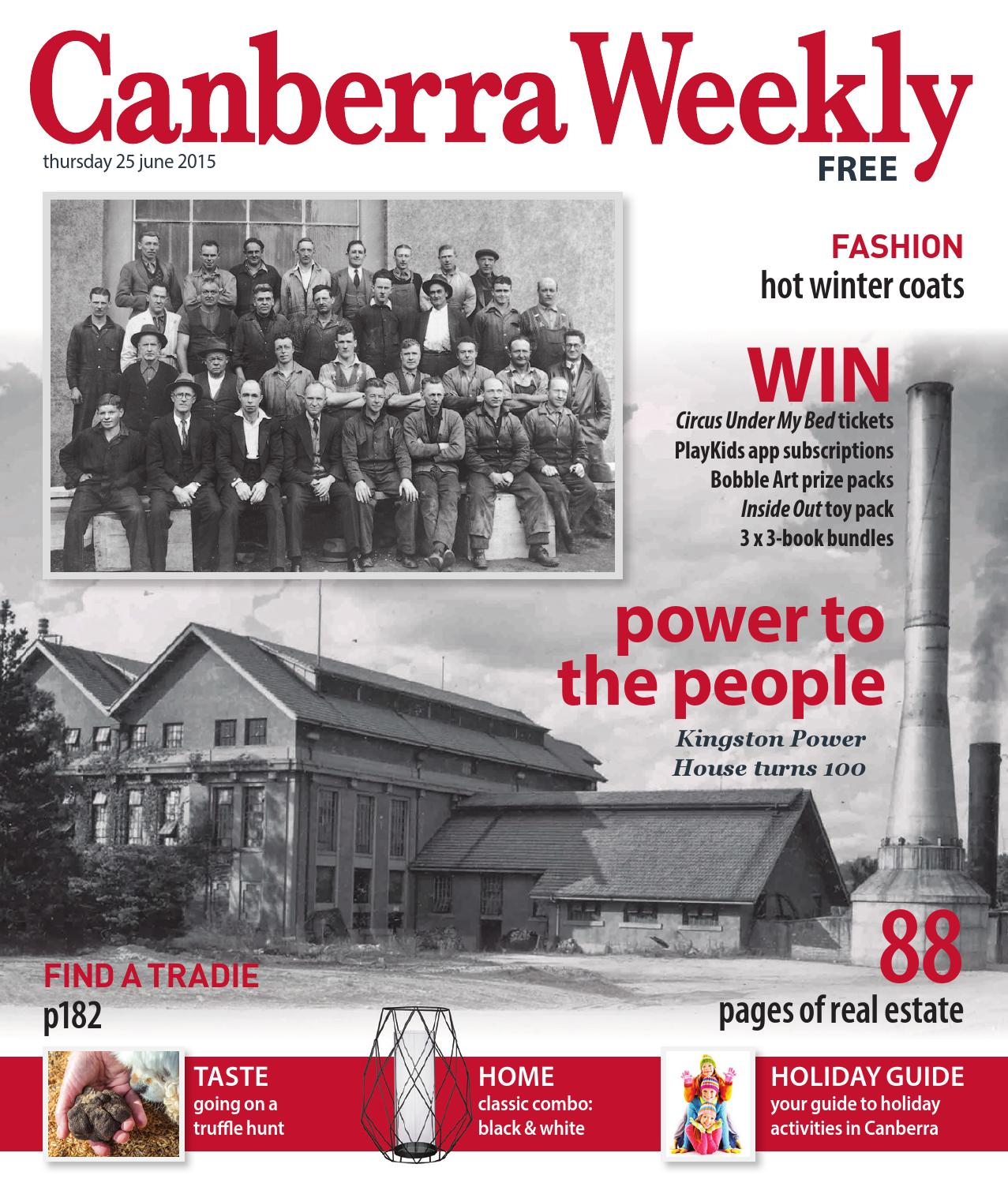 25 June 2015 by Canberra Weekly Magazine - issuu 616309850af