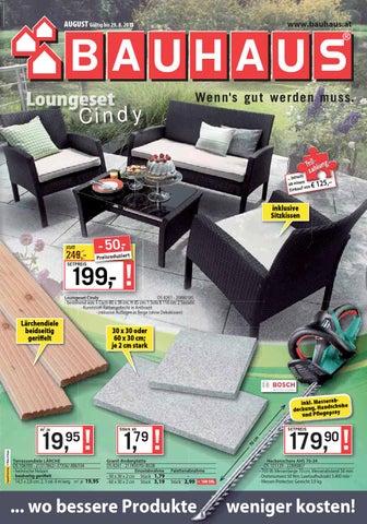 Bauhaus Angebote 2 29august2015 By Promoangebote At Issuu
