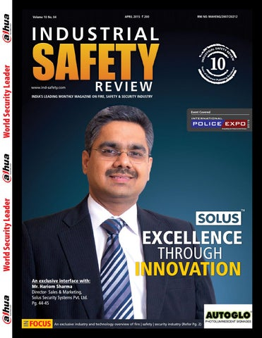 Industrial Safety Review April 2015 by Divya Media Publications Pvt