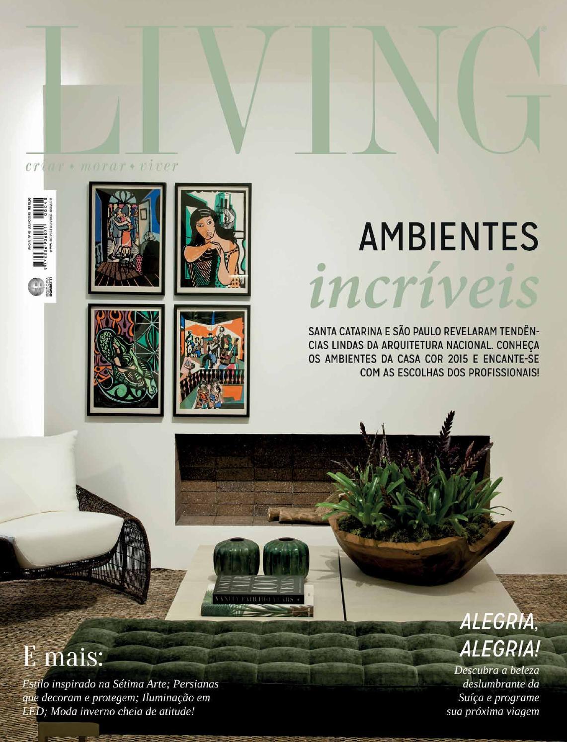 Revista Living - Edição nº48 - Julho de 2015 by Revista Living - issuu b105ce9fcb