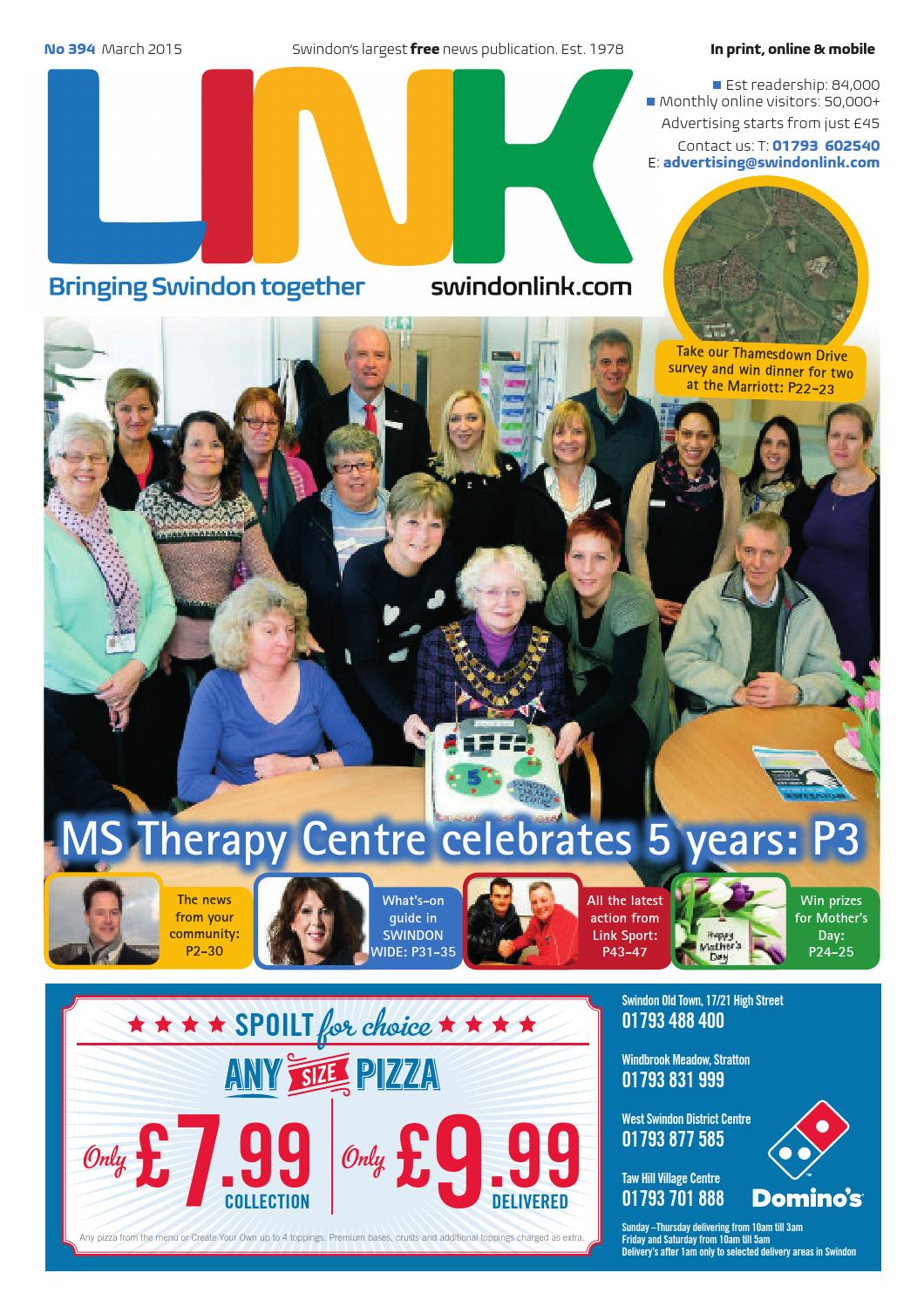 Swindon Link Magazine March 2015 by Roger Ogle - issuu