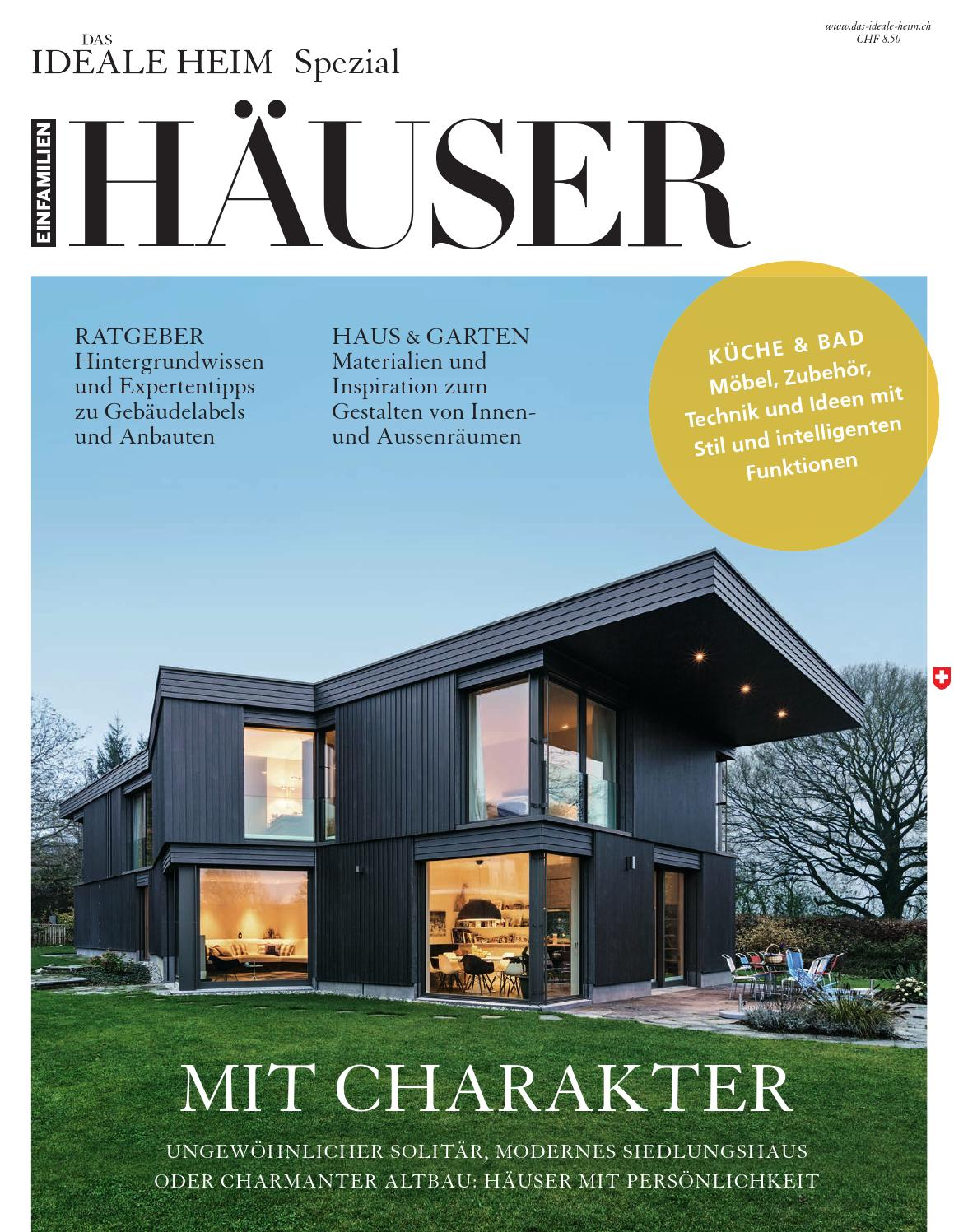 Einfamilienhäuser – Das Ideale Heim Spezial by Archithema Verlag - issuu