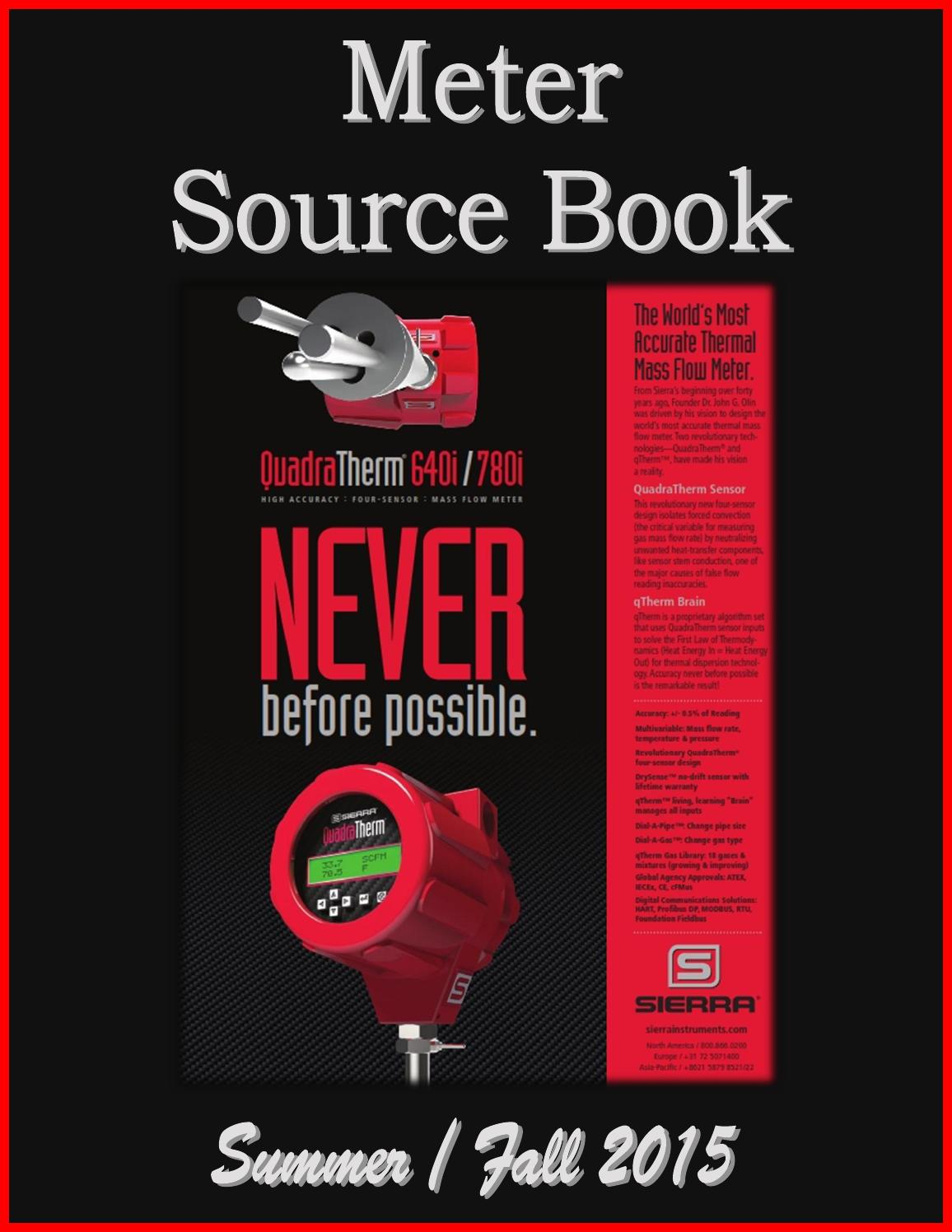 Meter Source Book By Federal Buyers Guide Inc Issuu Abb Earthleakage Circuit Breaker F364 Nib
