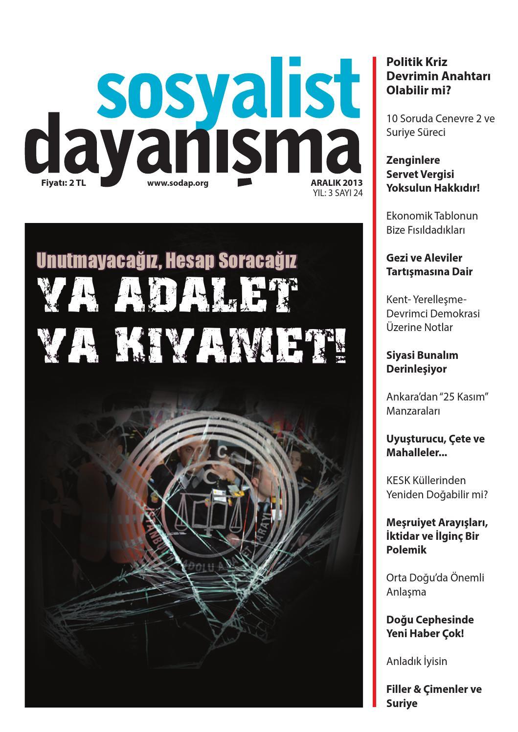 72b20b2fddce5 Sosyalist Dayanışma Dergisi Aralık 2013 24. Sayı by Sosyalist Dayanışma -  issuu