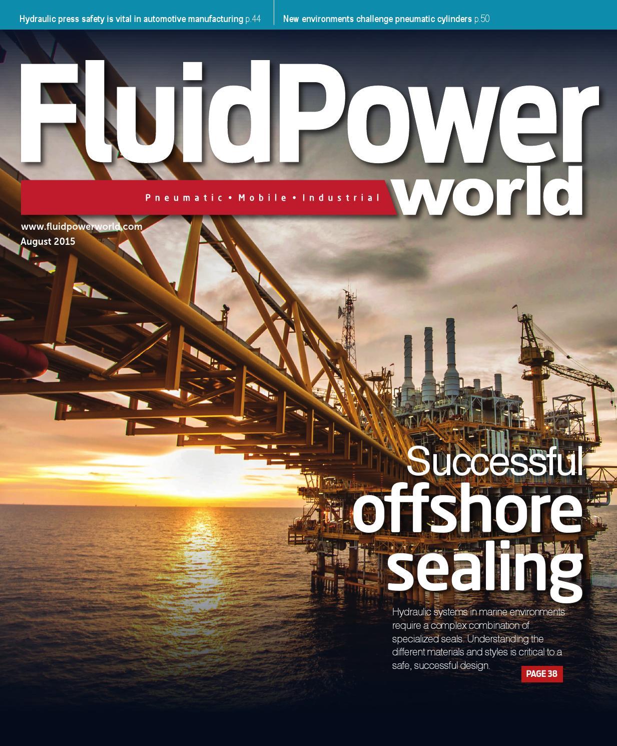 Fluid Power World August 2015 By Wtwh Media Llc Issuu Simple Hydraulic Press How To Control Decompression In