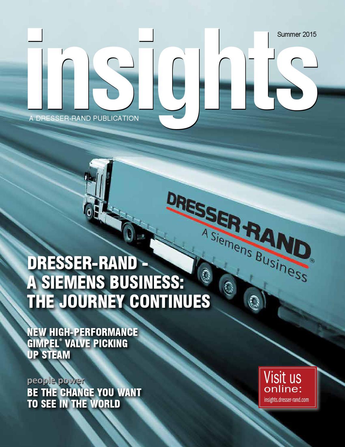 Dresser Rand Insights Magazine Summer