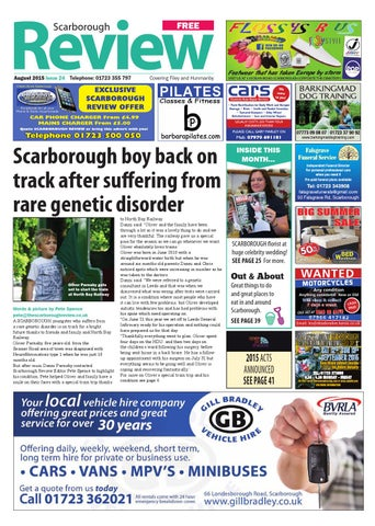 Scarborough Review Issue 24 By Your Local Link Ltd Issuu