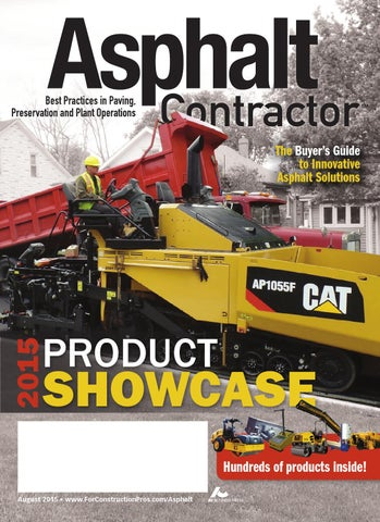 Asphalt Contractor August 2015 by ForConstructionPros com - issuu