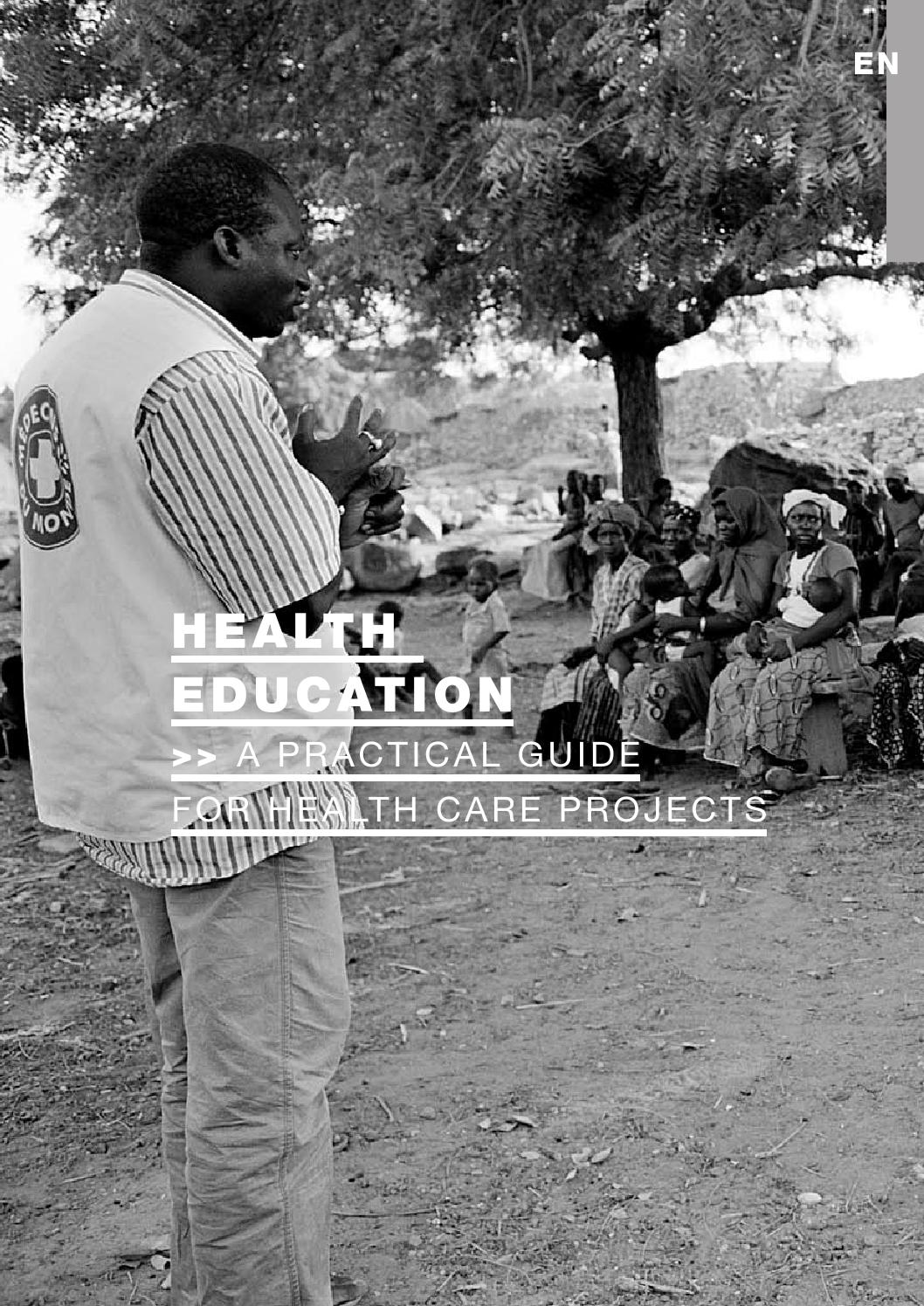 Health education : A practical guide for wealth care projects by ...