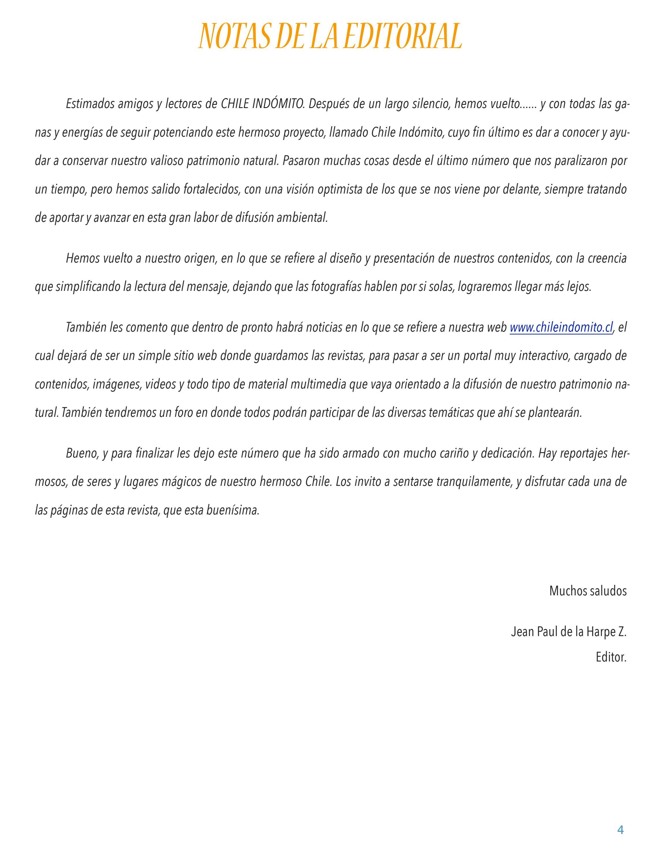 a12bec8480b21 Chile Indómito - Número 18 - Agosto 2015 by jean de la harpe - issuu
