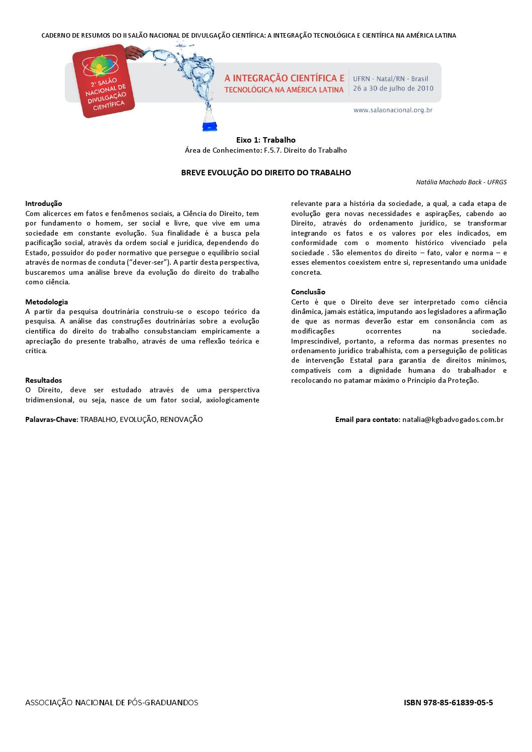 343037ba83c Anais 2ª Mostra Científica da ANPG by Associação Nacional de Pós-Graduandos  - issuu