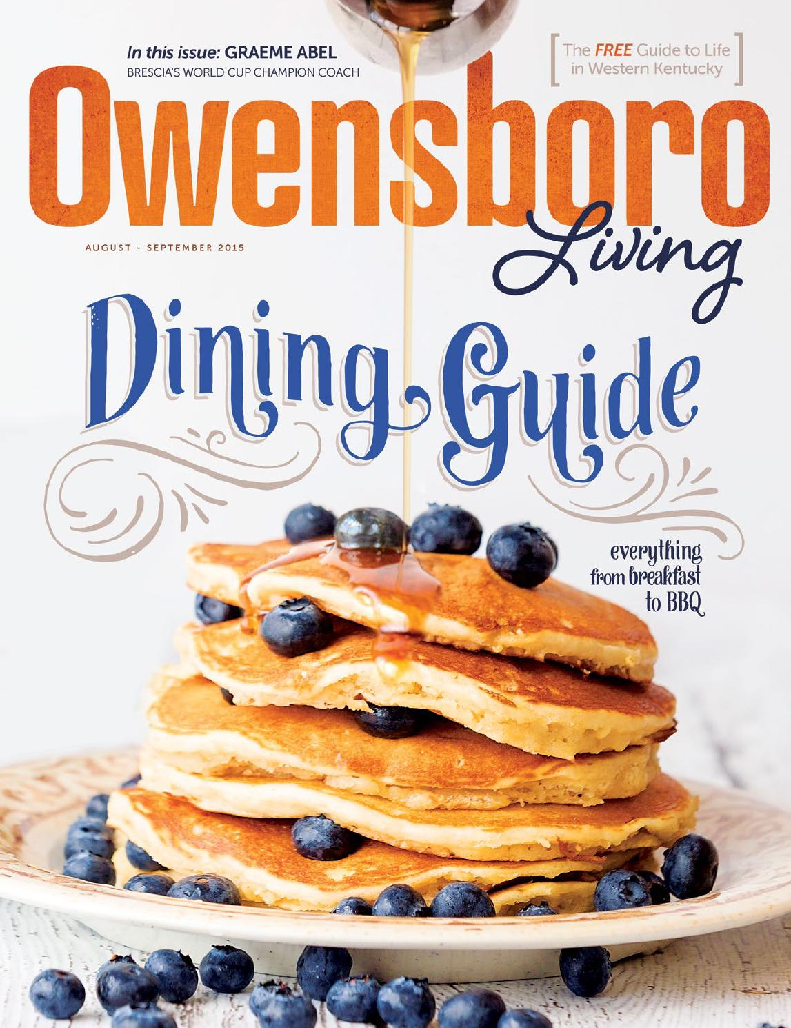 Owensboro Living August / September 2015 by Tanner Publishing Co. - issuu