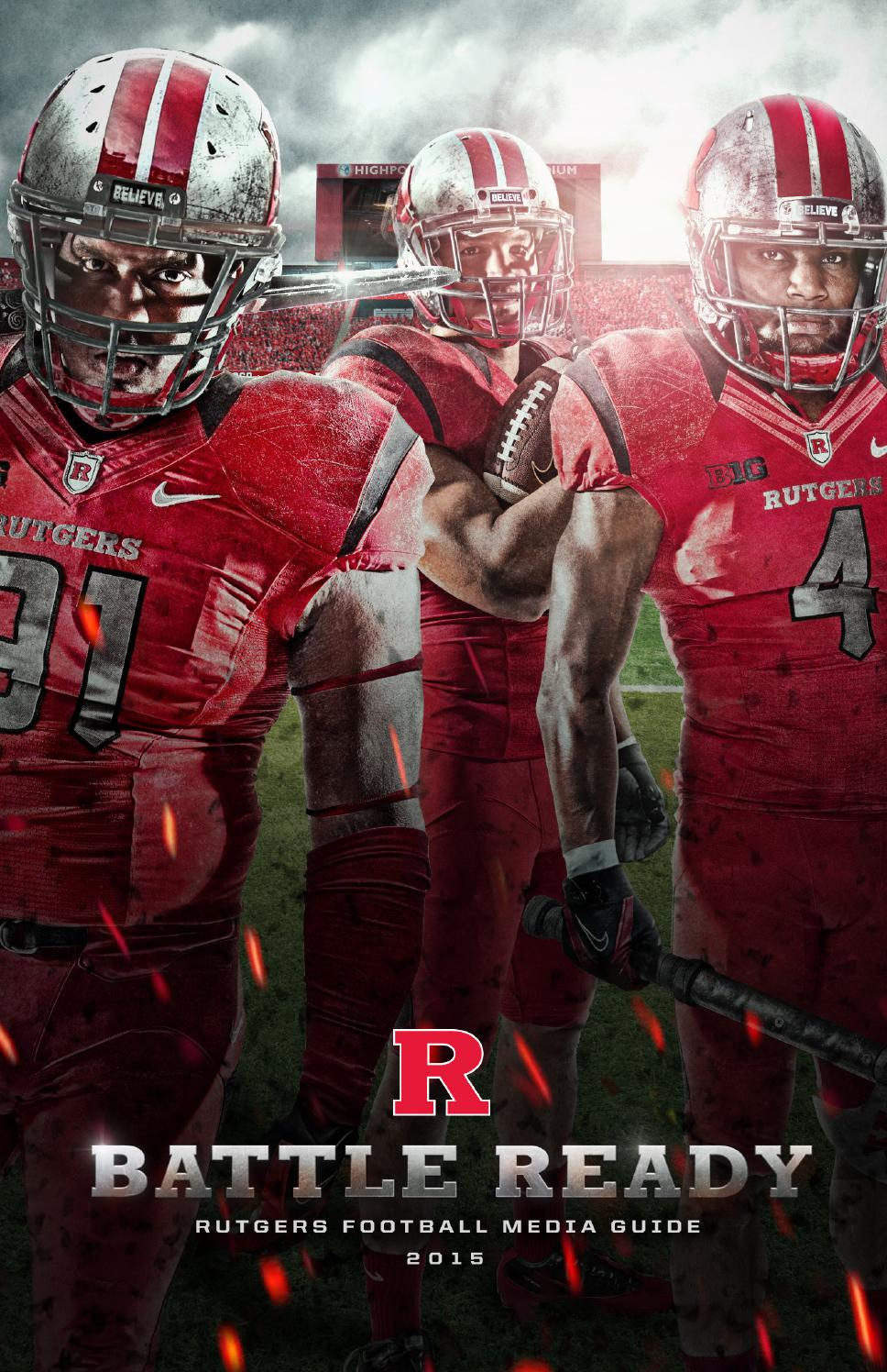 best sneakers a8a3c 9f29b 2015 Rutgers Football Media Guide by Rutgers Athletics - issuu