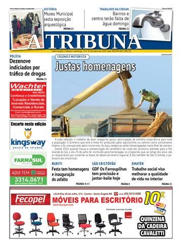 4a9298f7c227a Jornal A Tribuna 25 e 26 de julho 2015 by Jornal A Tribuna - Santo ...