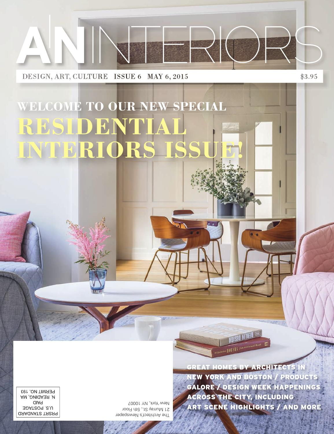 An interiors issue by the architects newspaper issuu