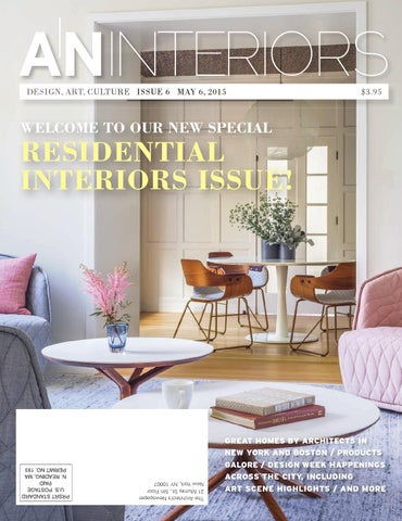 ANINTERIORS DESIGN, ART, CULTURE ISSUE 6 MAY 6, 2015