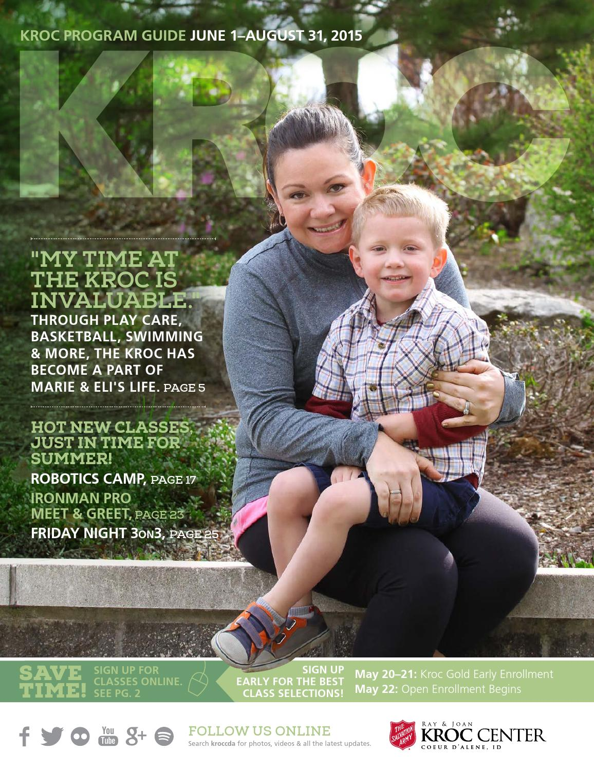 The Salvation Army Kroc Center 2015 Summer Program Guide by The
