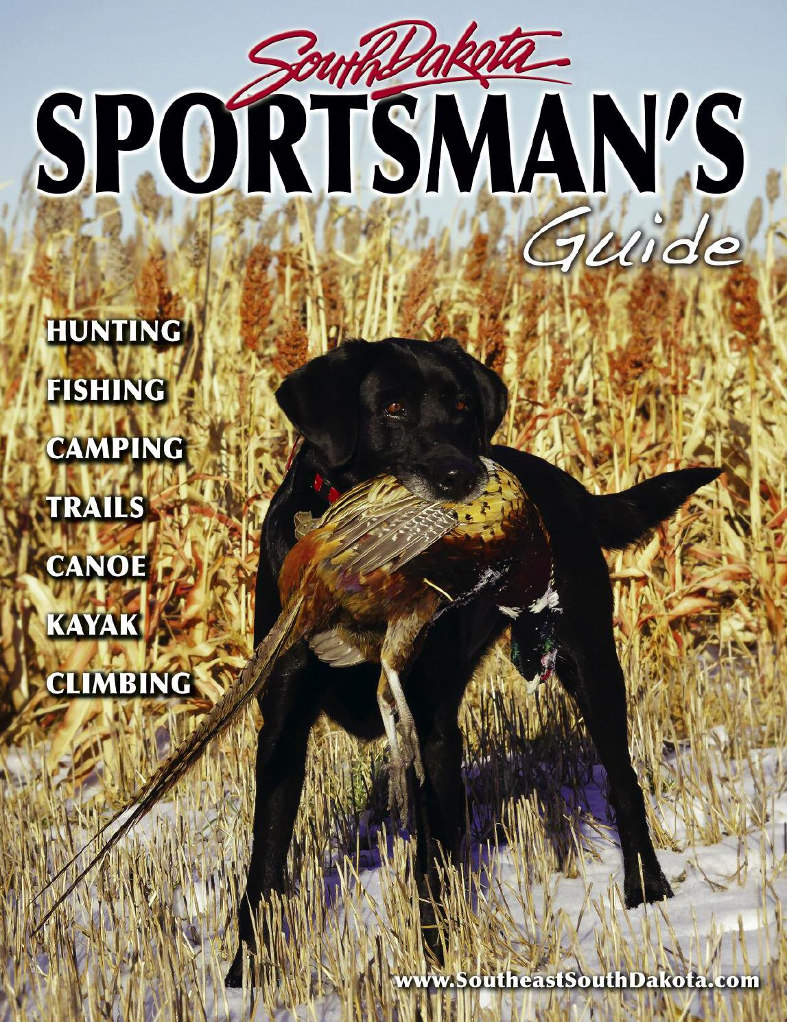 2015-16 South Dakota Sportsman's Guide by Southeast South Dakota - issuu