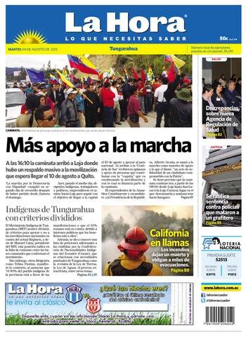 Ambato04agosto2015 by Diario La Hora Ecuador - issuu