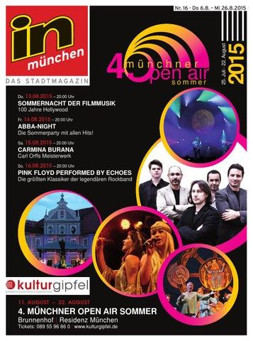 in münchen Ausgabe 16/2015 by InMagazin Verlags GmbH - issuu