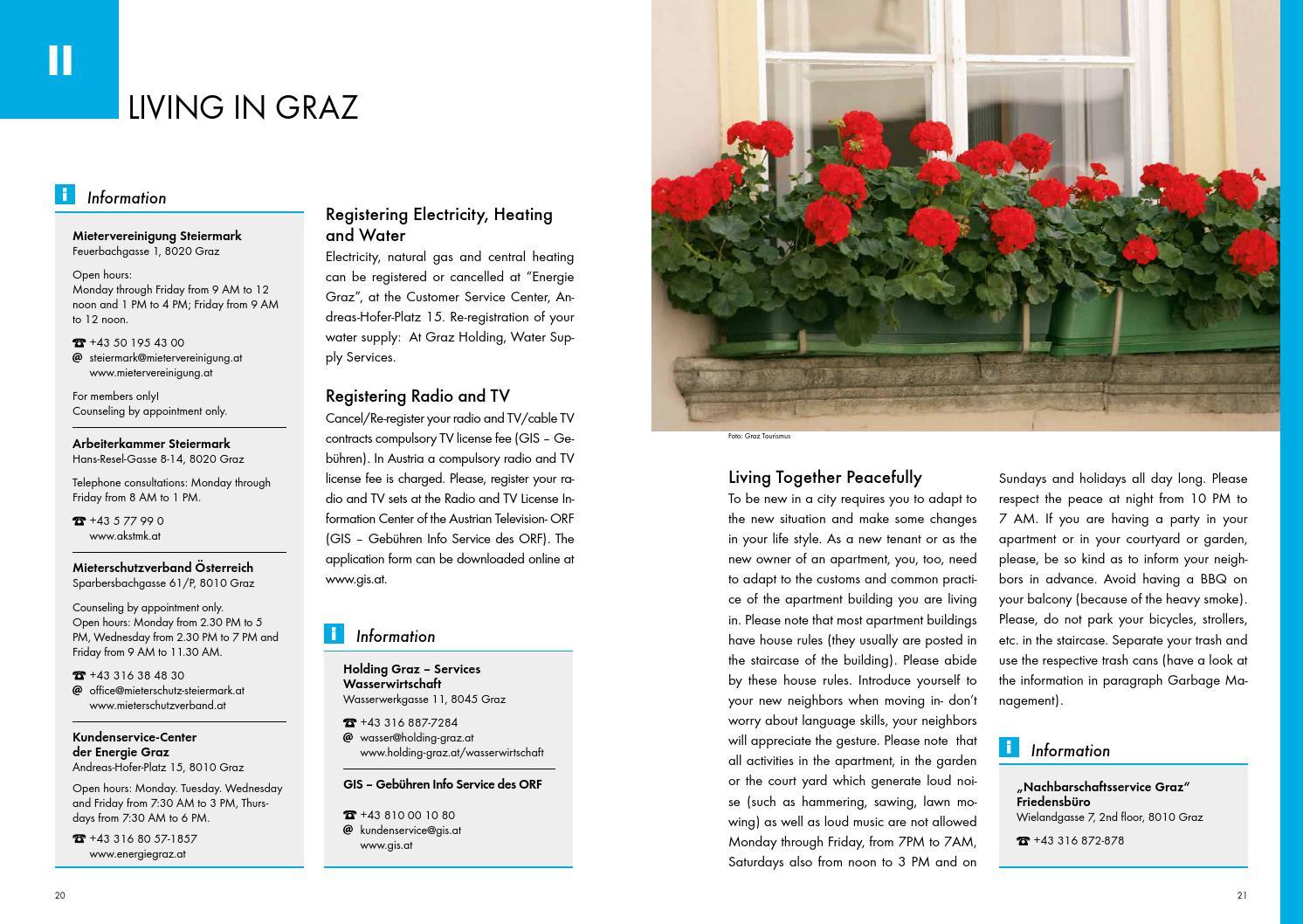 Welcome To Graz Brochure 2015 By Stadt Graz Issuu