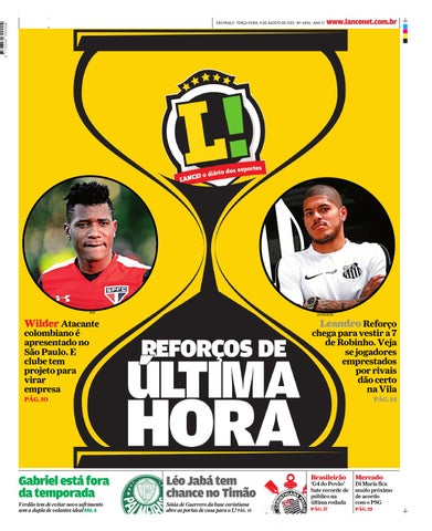 eb262475e7 Jornal o Lance by lotequeiros - issuu