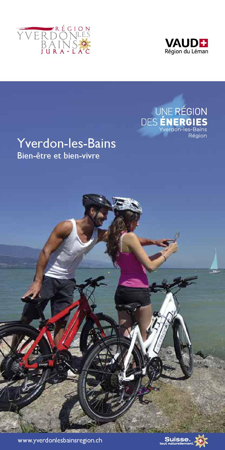 Brochure Yverdon Les Bains 2015 By R Gion Du L Man Lake Geneva