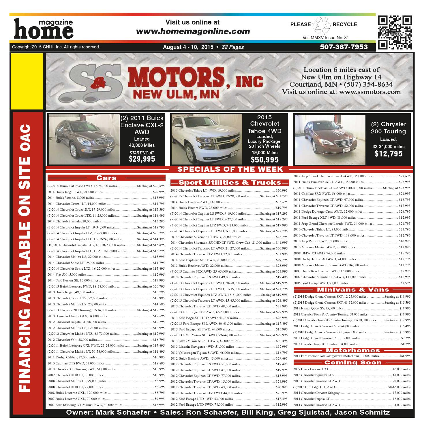Home Magazine Issue 08/04/15 By Home Magazine Online