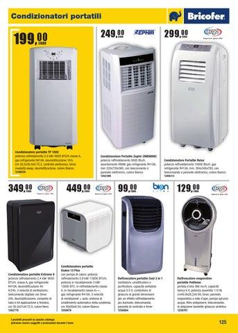 Bricofer catalogo generale 2015 by bricofer italia spa issuu - Kit finestra condizionatore portatile ...