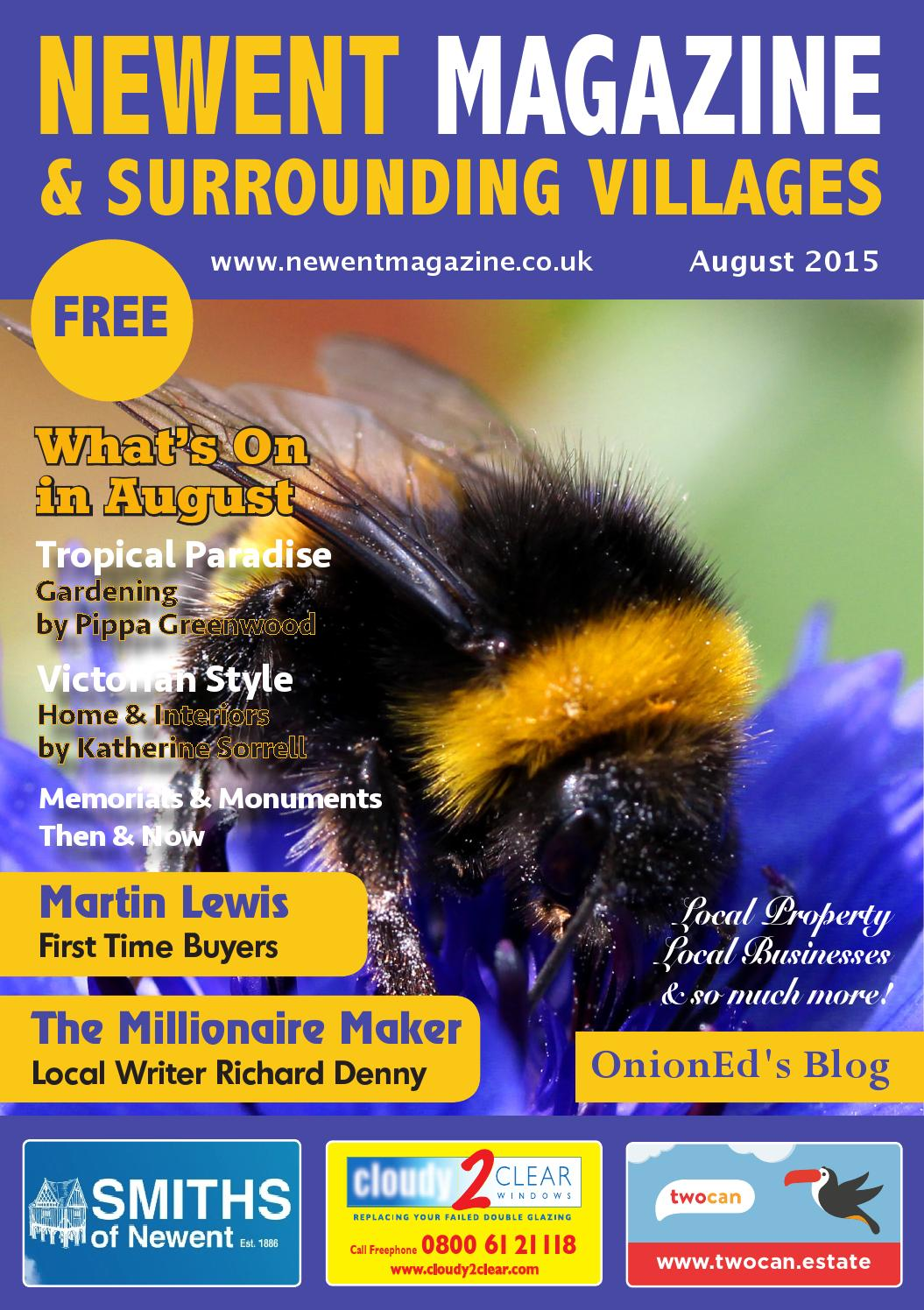 79eda5374bad8 Newent Magazine August15 by Love Local Magazines (formerly Glos ...