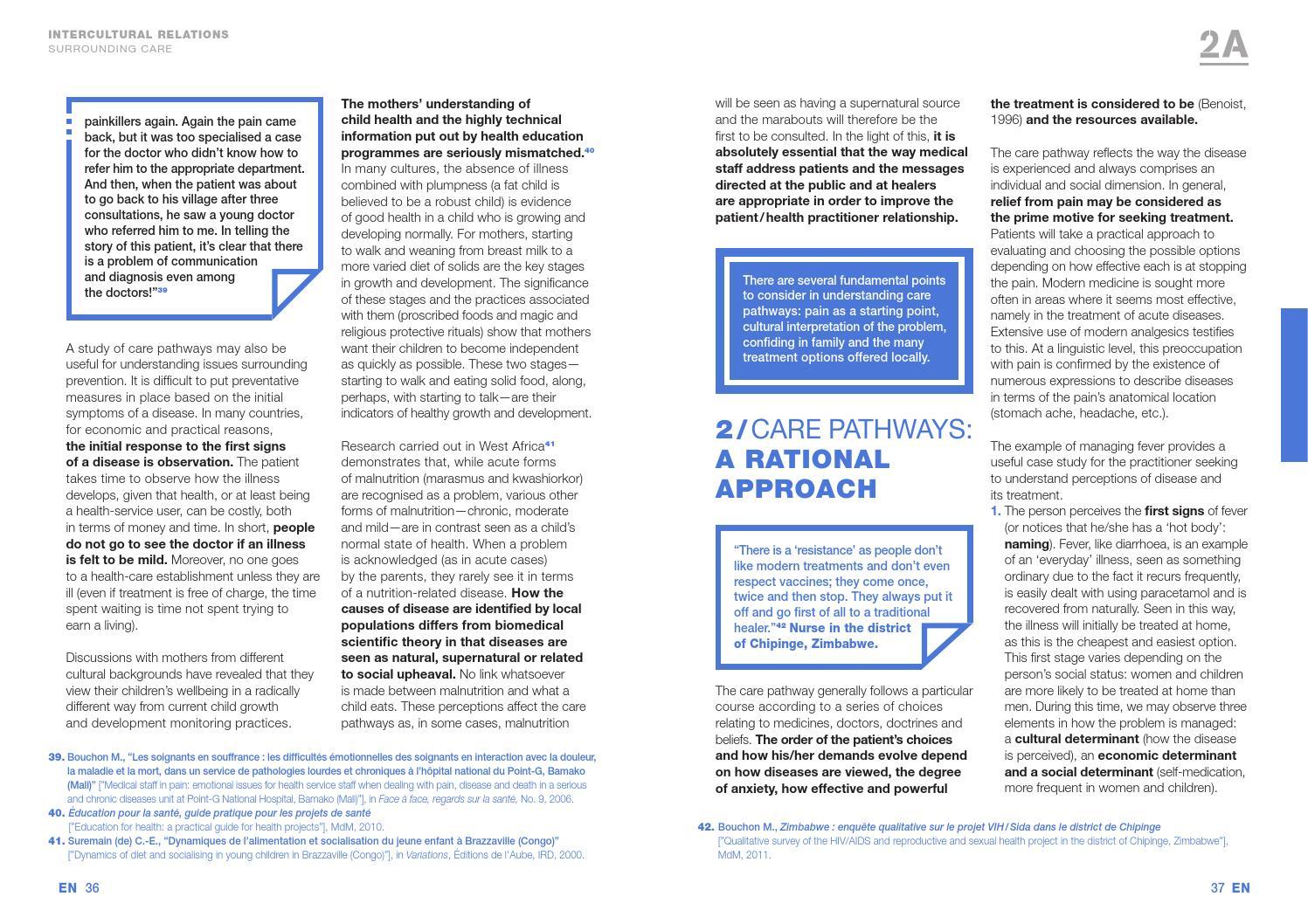 Access to healthcare socio cultural determinants mdm pdf by Médecins