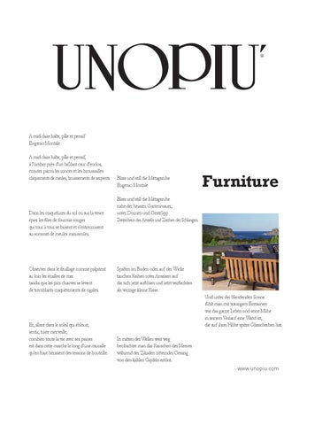 Furniture Unopiù by Unopiù SpA - issuu