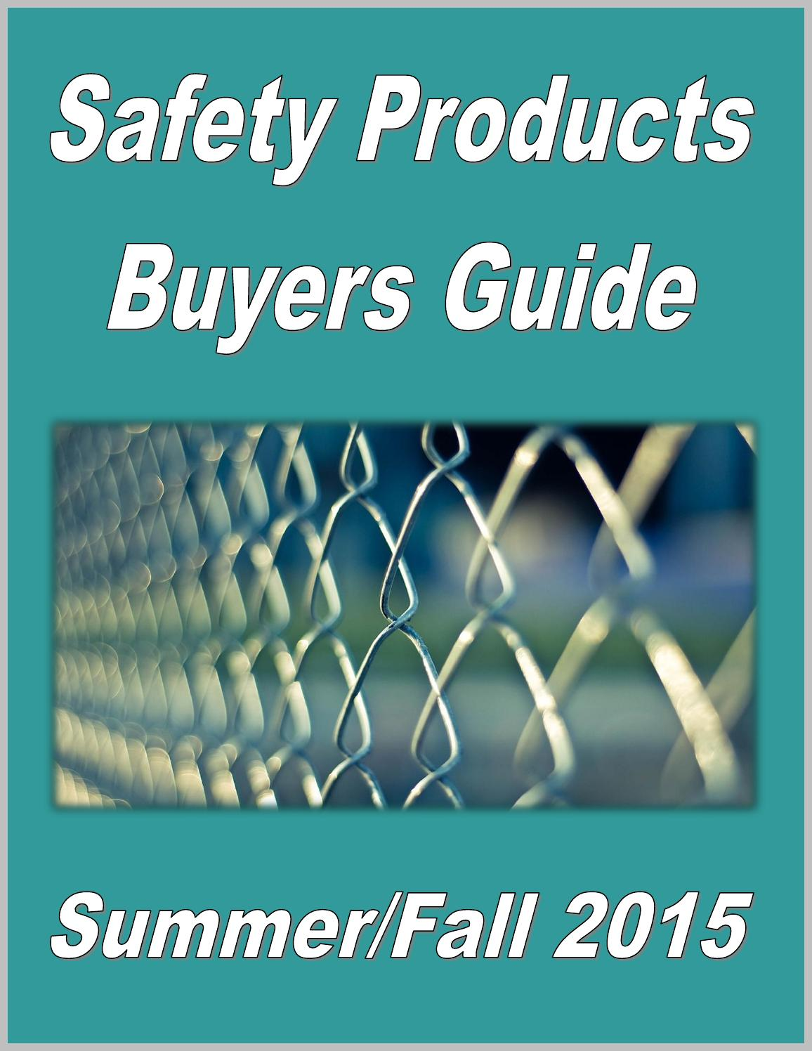 Safety Products Buyers Guide By Federal Inc Issuu Circuits 8085 Projects Blog Archive Diy Small Scaleintegrated