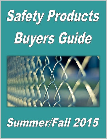 safety products buyers guide by federal buyers guide inc issuu