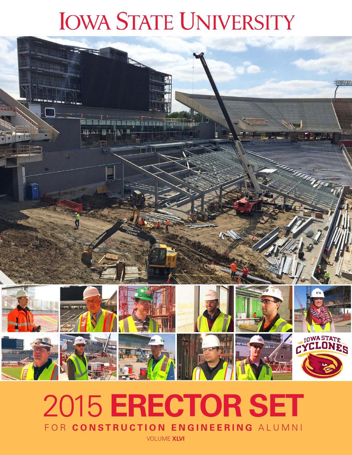 2015 Iowa State University Construction Engineering Erector