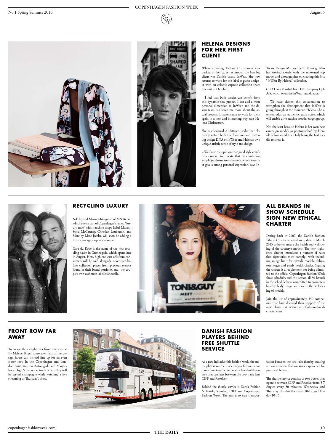 Copenhagen Fashion Week The Daily No  1 by Copenhagen Fashion Week