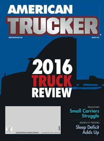 American Trucker August 2016 By American Trucker Issuu